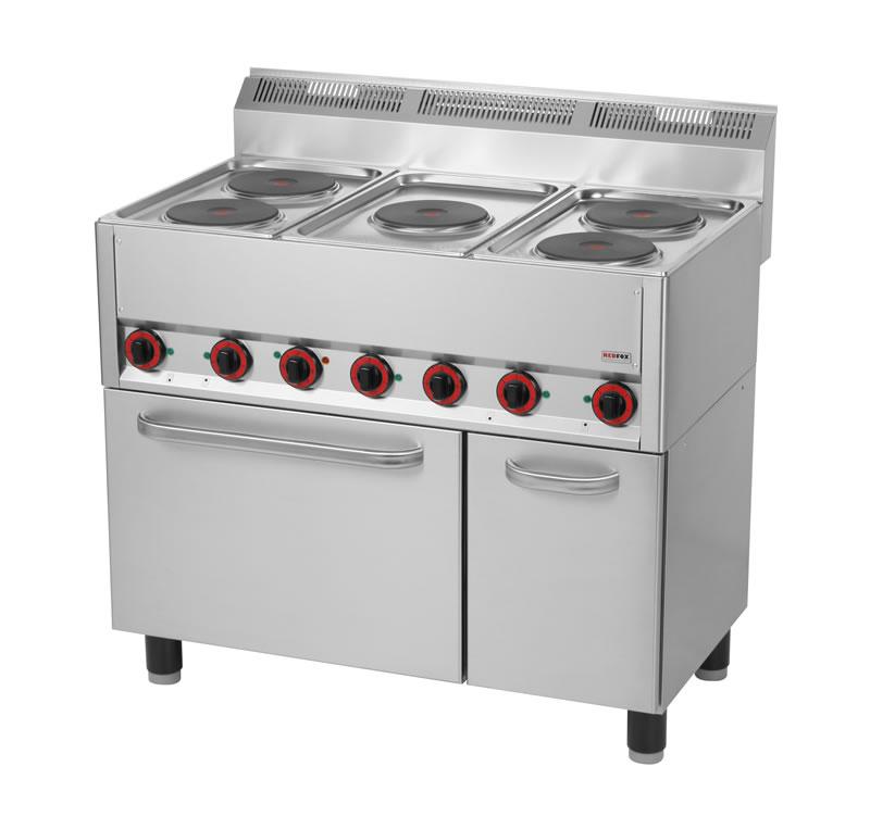 Zapytaj o Kuchnia elektryczna 5 płytowa z piekarnikiem elektrycznym i szafką