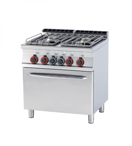 kuchnia gazowa 4 palnikowa z piekarnikiem gazowym cf478g