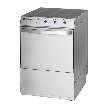 Zmywarka uniwersalna 400/230V z dozownikiem płynu myjącego i pompą zrzutową model 801507 firmy Stalgast