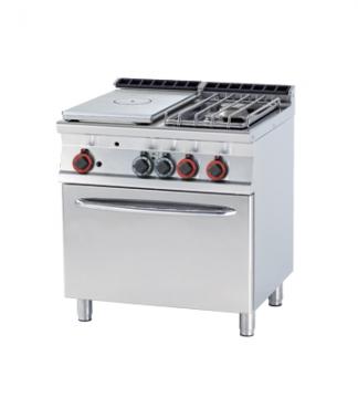 Kuchnia żeliwna gazowa zpiekarnikiem model TPF2-78G/P / 00000974