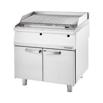 Grill lawowy gazowy (lava grill) S400 - G30 model 9732130 firmy Stalgast