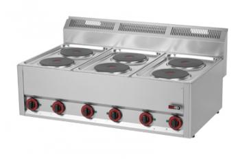 Kuchnia elektryczna 6-płytowa model SP90ELS / 00000492