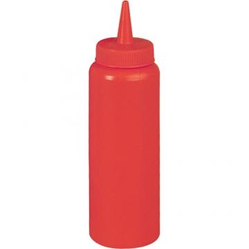 Dyspenser do sosów z polietylenu czerwony model 065351 firmy Stalgast