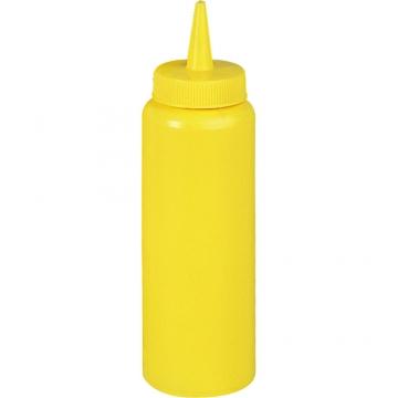 Dyspenser do sosów z polietylenu żółty model 065352 firmy Stalgast