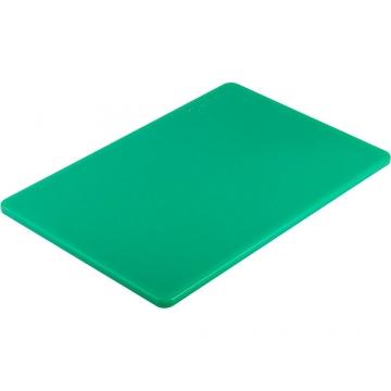 Deska do krojenia z polietylenu zielona model 341452 firmy Stalgast