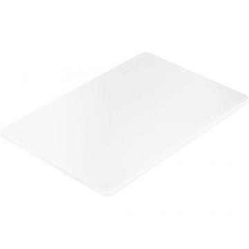 Deska do krojenia z polietylenu biała model 341455