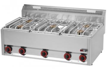 Kuchnia gazowa 5-palnikowa model SP90/5GLS / 00000499