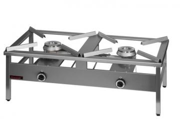 Taboret gazowy podwójny model 000.TG-2 firmy Kromet
