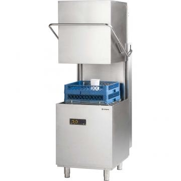 Zmywarka kapturowa 500x500, 6,8 kW z dozownikiem płynu myjącego model 803020 firmy Stalgast