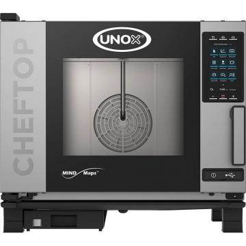 Piec konwekcyjno-parowy 5xgn1/1 cheftop plus 9,3 kw model 9000565 firmy Unox