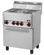 Linia 600 REDFOX Kuchnie elektryczne z piekarnikiem