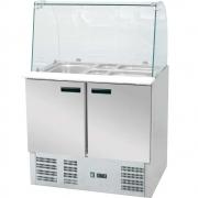 Stół chłodniczy sałatkowy z nadstawką szklaną 842222