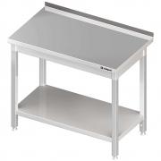 Stół nierdzewny z półką składany 980047160