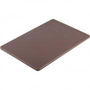 Deska do krojenia z polietylenu brązowa 341456