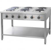 Kuchnia elektryczna 6 płytowa z szafką PCQ-712ET / 00000867