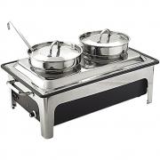 Podgrzewacz elektryczny z kociołkami do zupy 433241